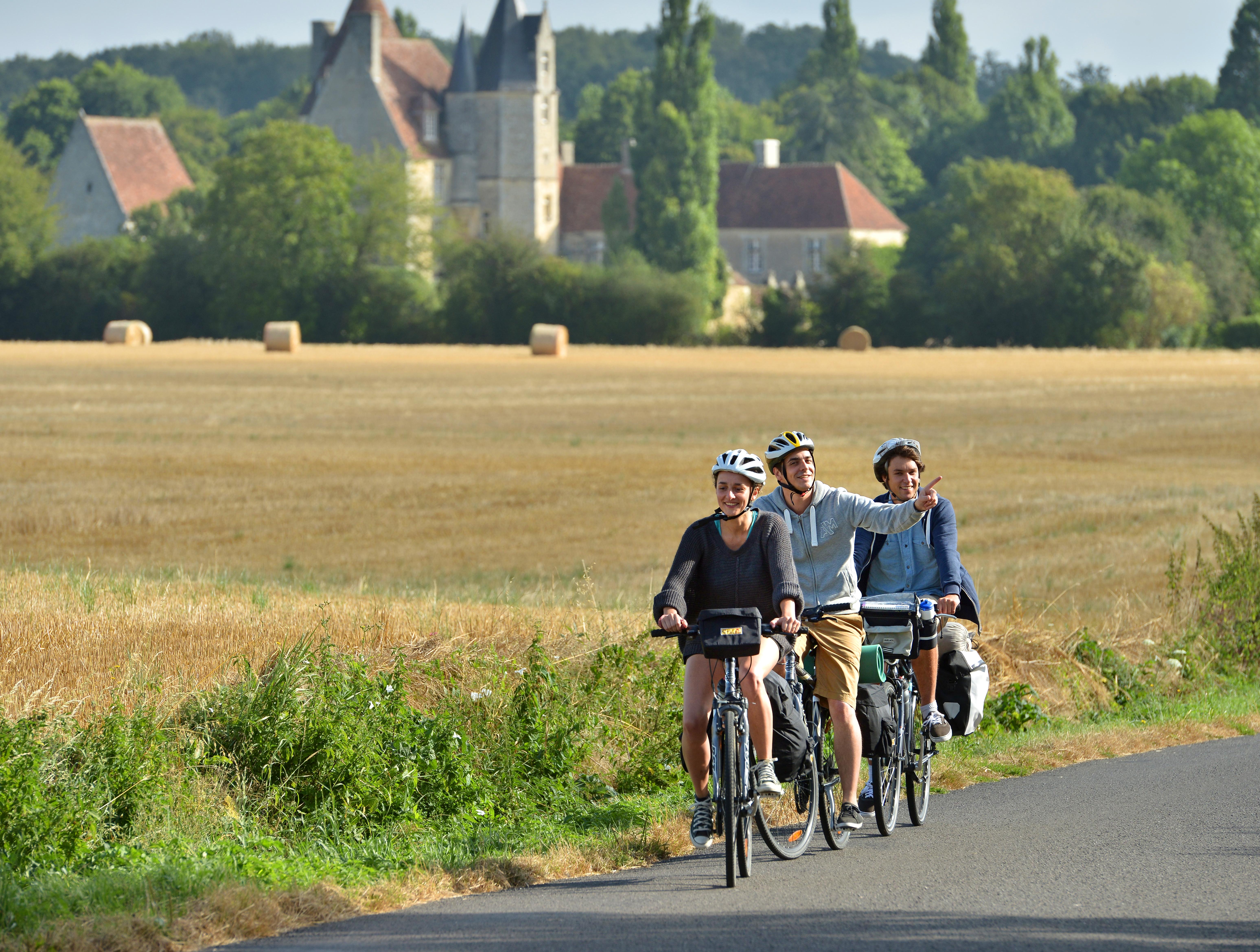 4 - Visite à vélo - Paris - Mont Saint Michel