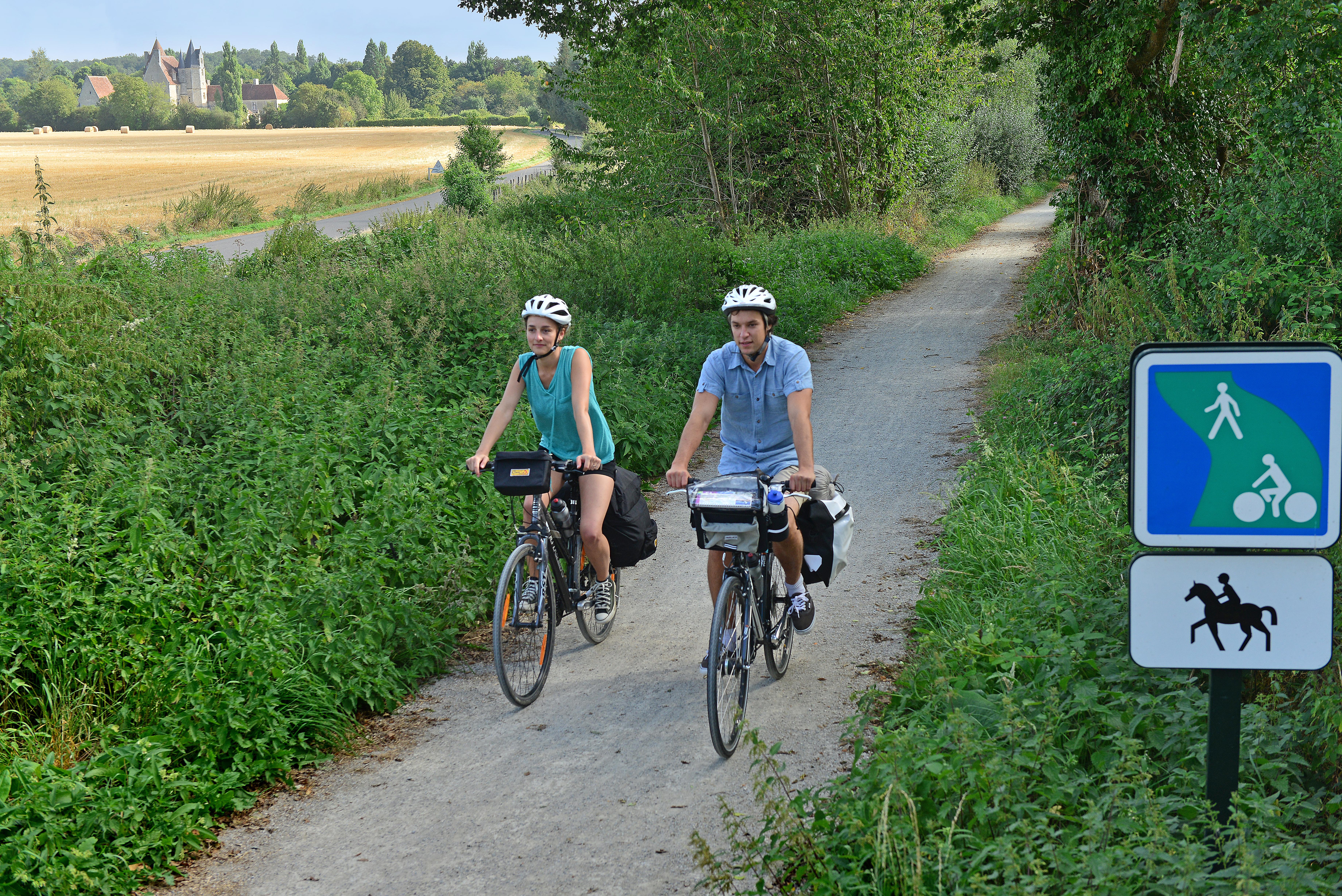 5 - Visite à vélo - Paris - Mont Saint Michel