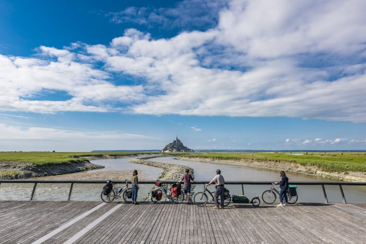 3 - Bike tour - Paris - Mont Saint Michel