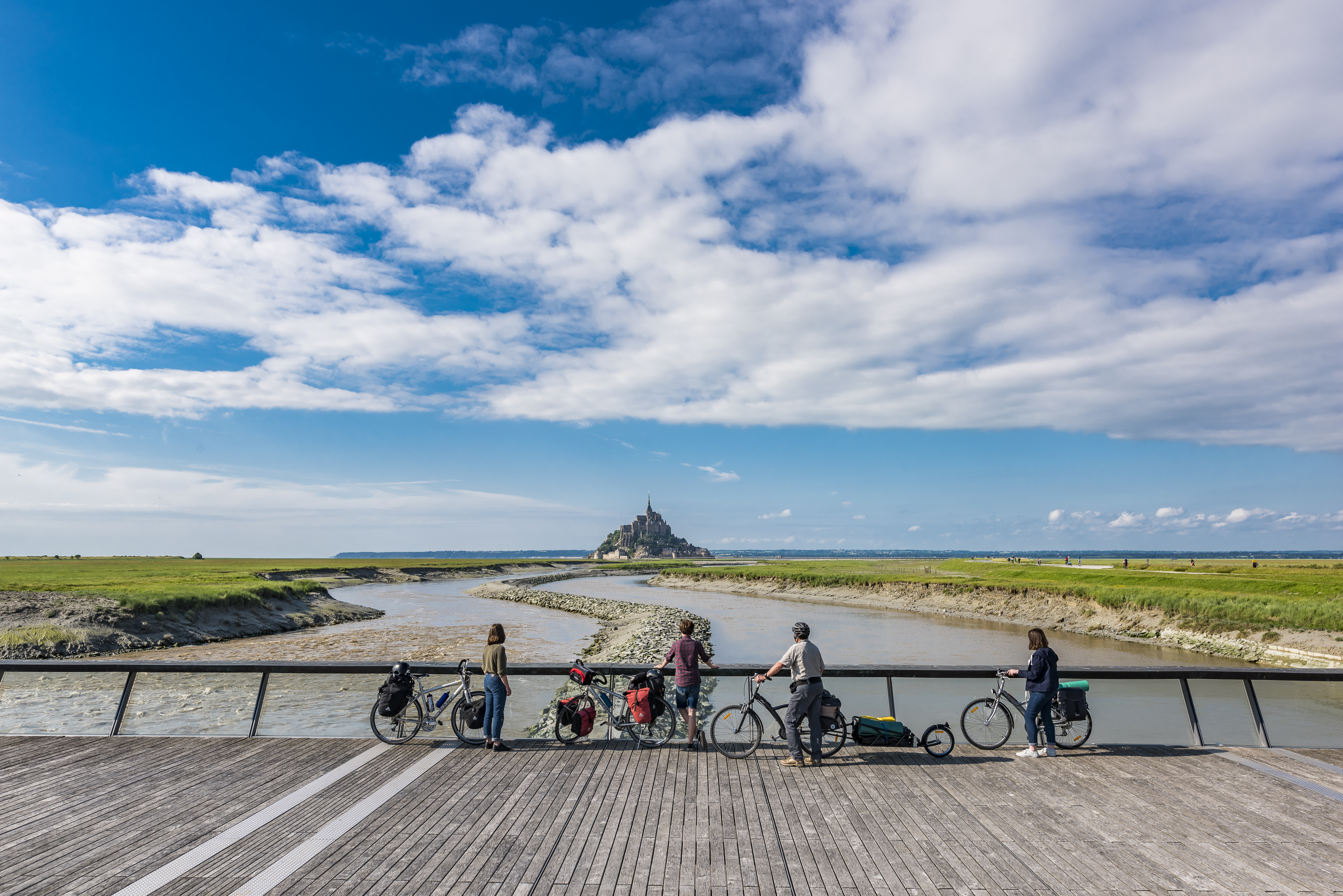 3 - Bikeurlaub - Paris - Mont Saint Michel