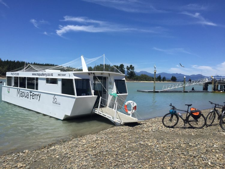 Ferry in New Zealand
