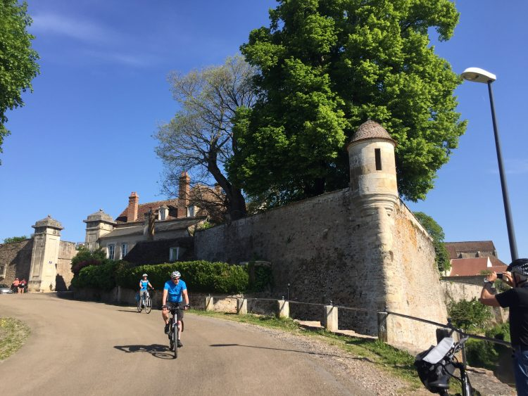3 - Radtour - Burgund