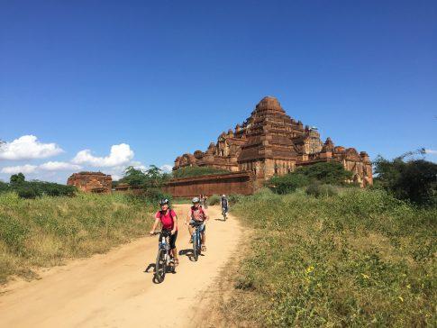 Radfahren in Bagan