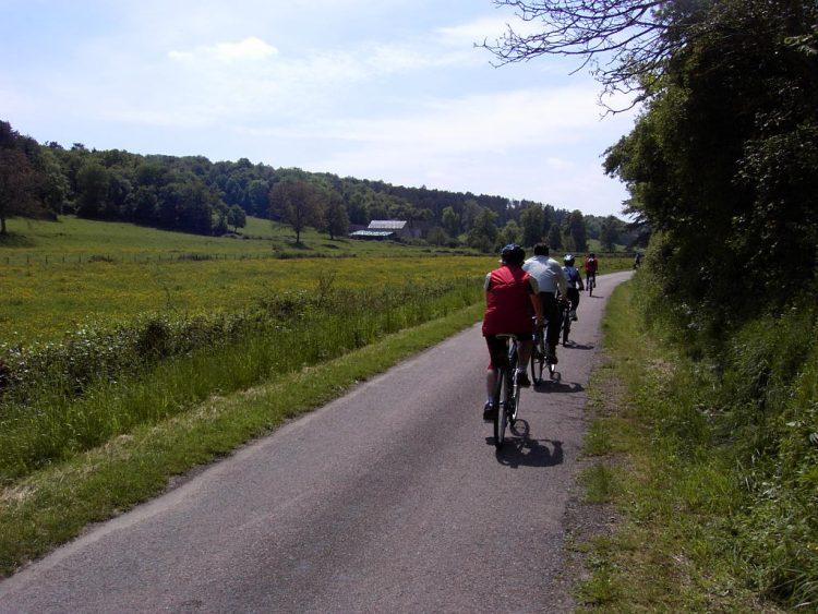 5 - Visite à vélo - Bourgogne