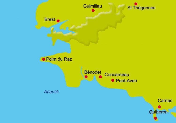 1 - Radtour - Bretagne