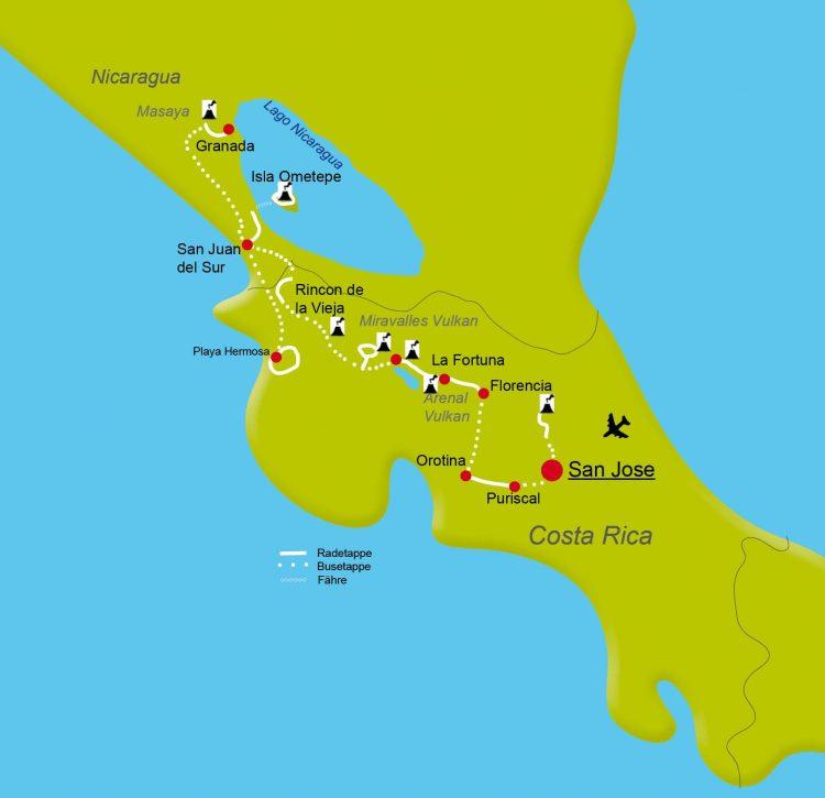 2 - Visite à vélo - Costa Rica Nicaragua