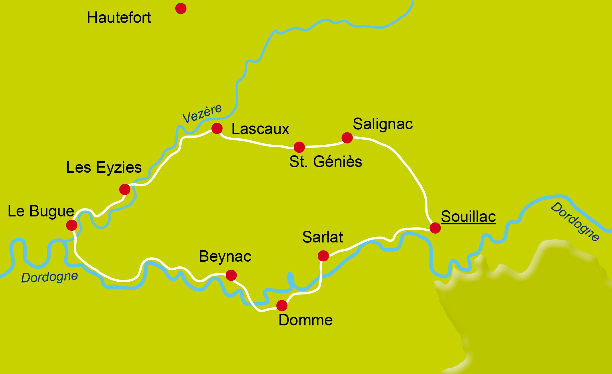 1 - Bike Tour - Dordogne