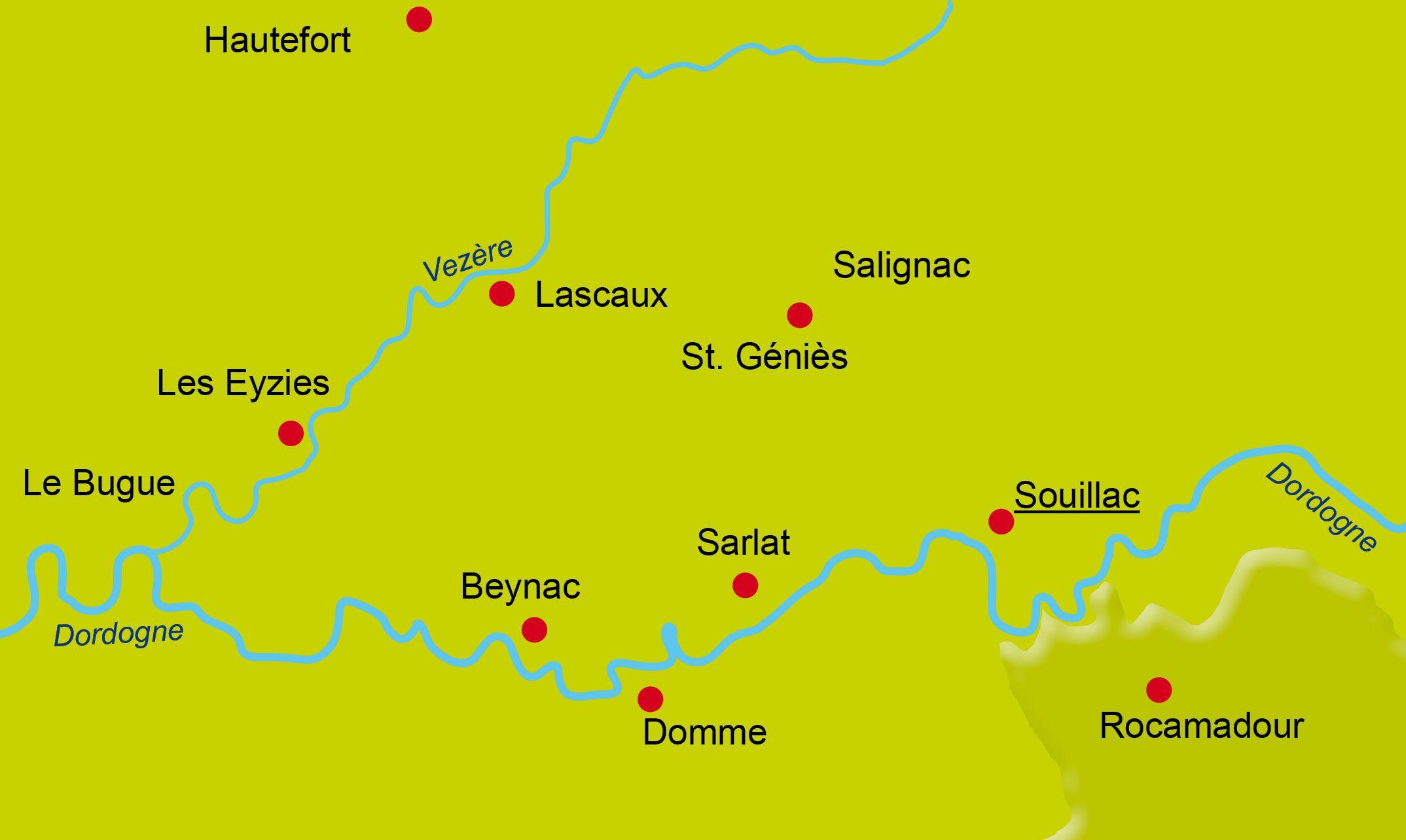 2 - Radfahren bleiben - Dordogne