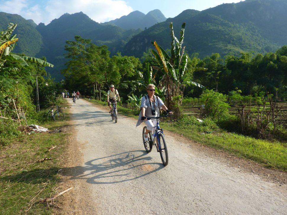 Radtour durch die Region Mai Châu
