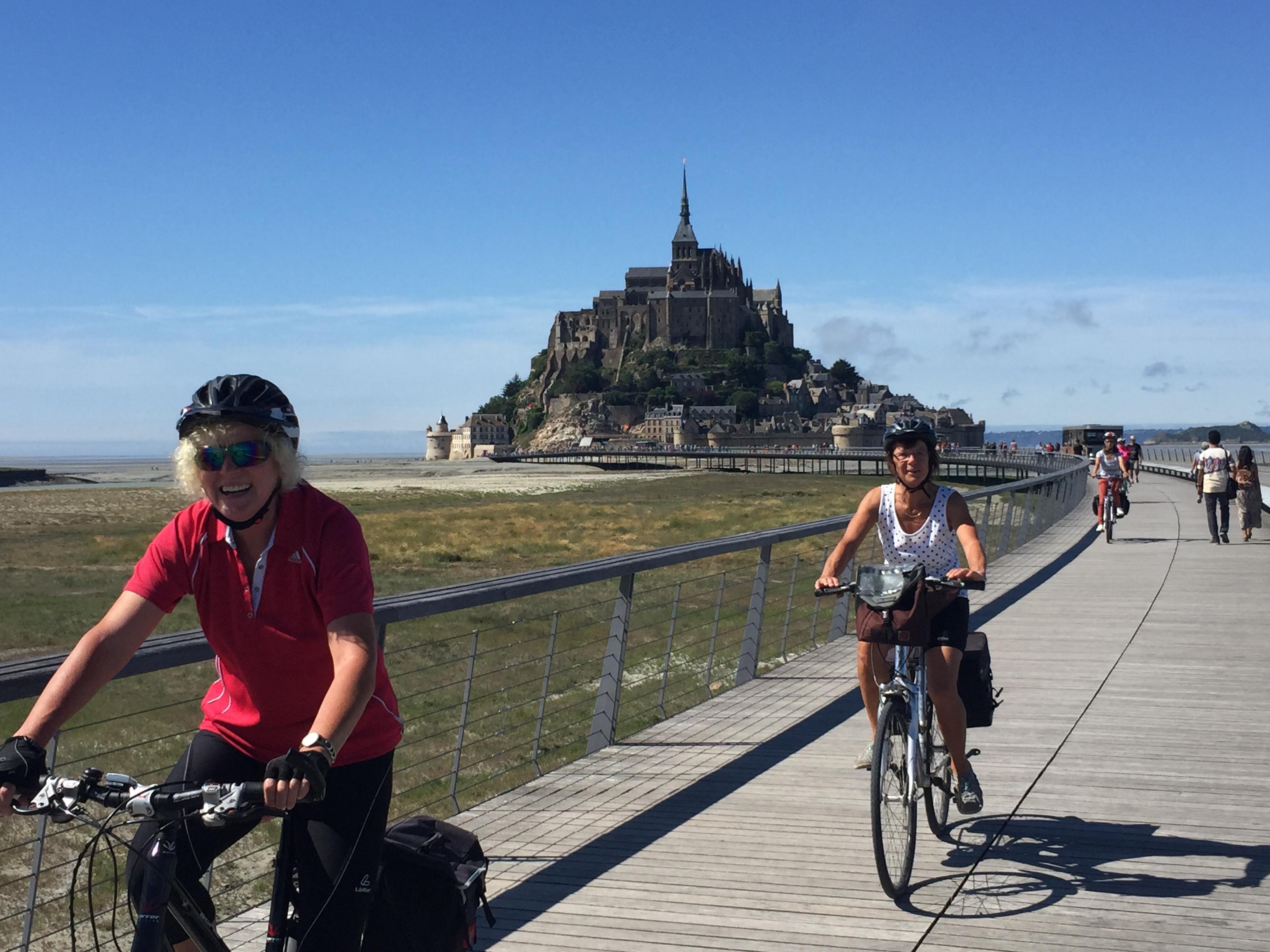 9 - Radfahren bleiben - Paris - Mont Saint Michel