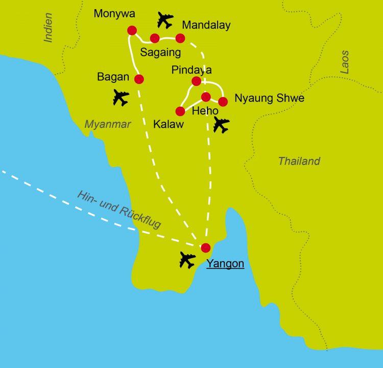 1 - France à vélo - Myanmar/Burma