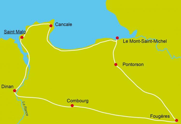 1 - Radfahren bleiben - Bretagne