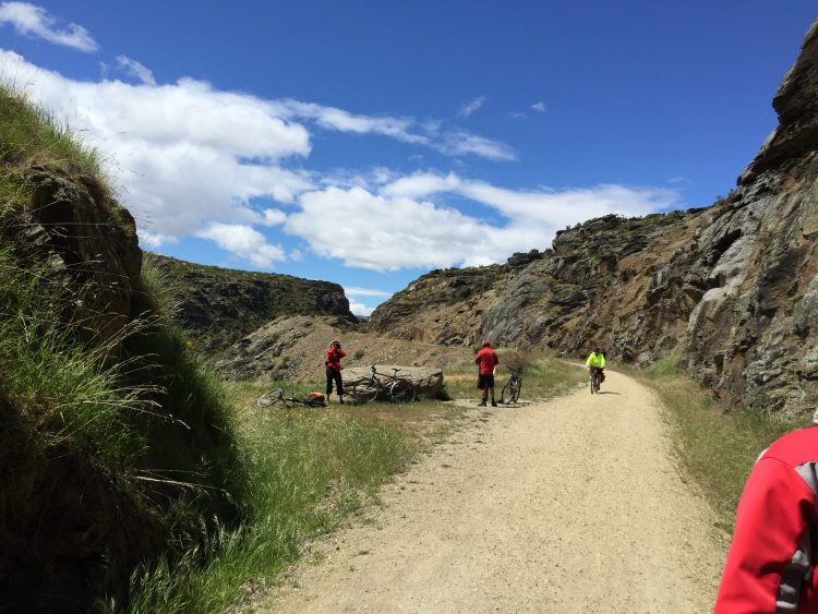 Otago Trail in New Zealand