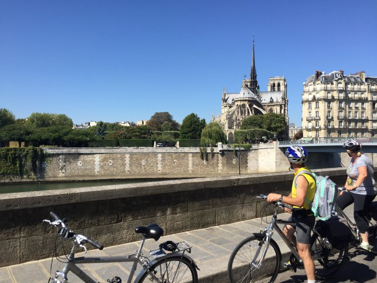 10 - Bike tour - Paris - Mont Saint Michel