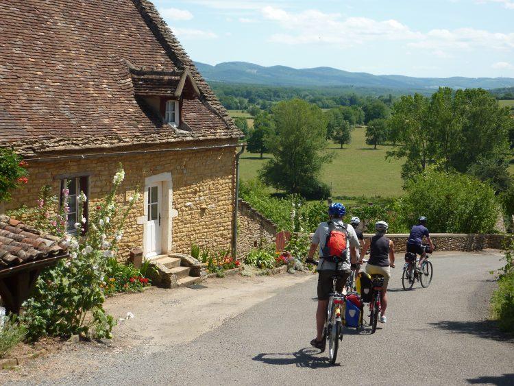 3 - Radfahren bleiben - Burgund