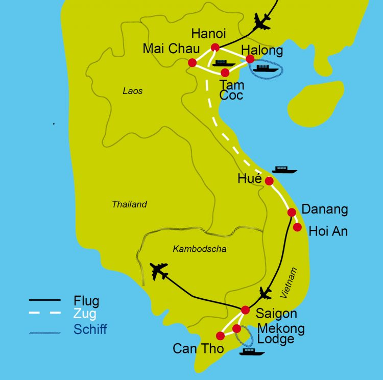 1 - Voyage à vélo - Vietnam