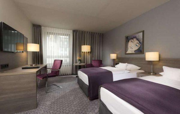 Zimmerbeispiel eines Hotels France à Vélo