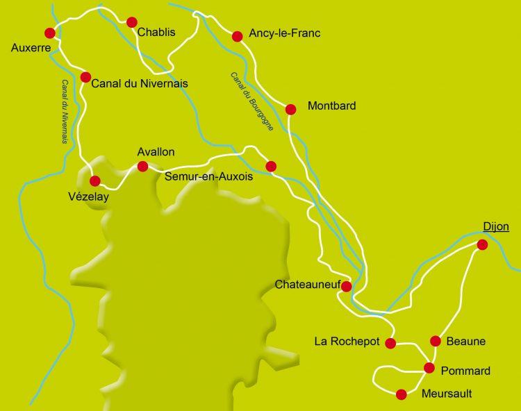 9 - Vacances à vélo - Burgundy