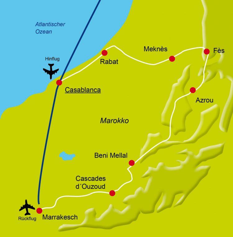 5 - France à vélo - Morroco