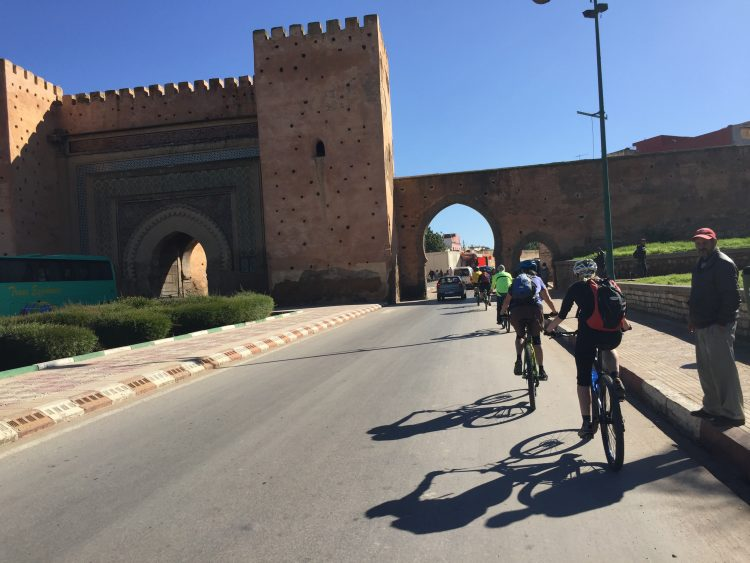 Visit of the city Meknes in Morocco
